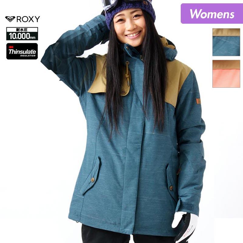 店内全品P10倍 スノーボードウェア スキーウェア ロキシー ROXY レディース ボードウェア ジャケット ERJTJ03049 スノージャケット スノボウェア スノボーウェア 上 スノーウェア ウエア 女性用