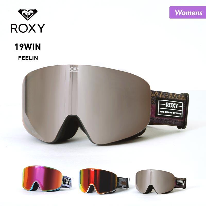 ROXY/ロキシー レディース スノーボード ゴーグル ERJTG03072 スノーゴーグル 平面ゴーグル UVカット スキーゴーグル スノボ フレームレス ミラー 女性用