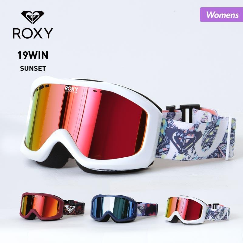 ROXY/ロキシー レディース スノーボード ゴーグル ERJTG03078 スノーゴーグル 平面ゴーグル UVカット スキーゴーグル スノボ ミラー 女性用
