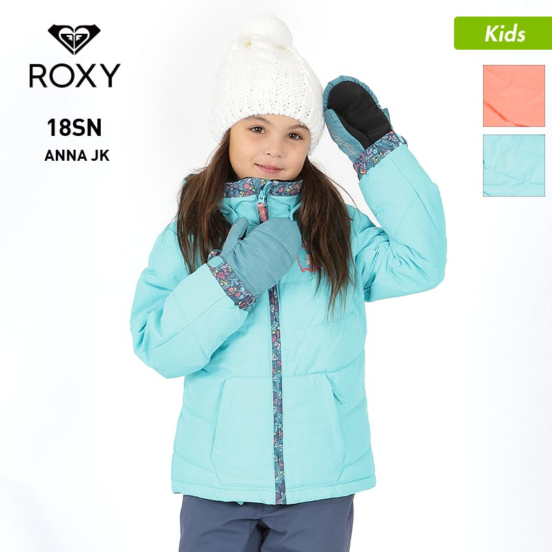 ROXY/ロキシー キッズ スノーボードウェア ジャケット ERLTJ03008 スノボウェア スノーウェア スノージャケット 上 ウエア スキーウェア ジュニア 子供用 こども用 女の子用