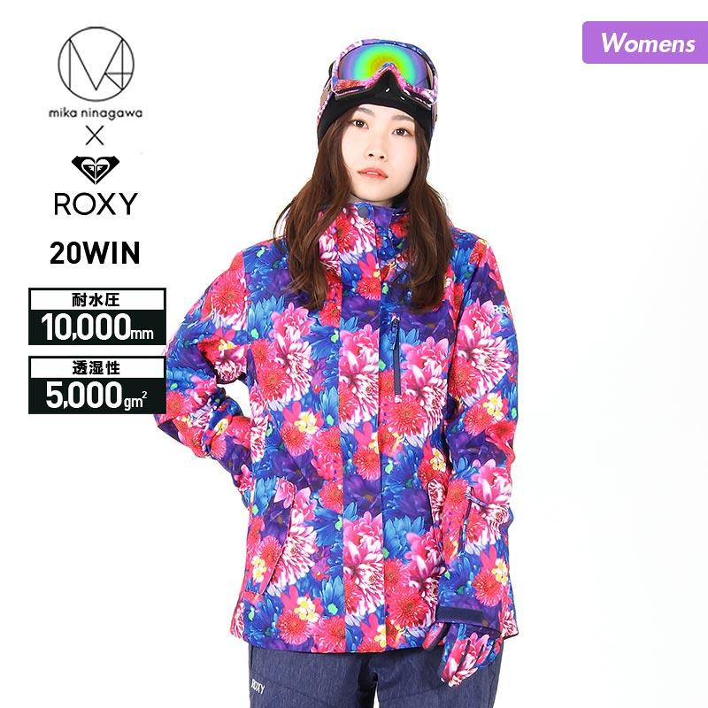 ROXY/ロキシー レディース スノーボードウェア ジャケット 蜷川実花コラボモデル ERJTJ03245 スノーウェア スノボウェア スキーウェア スノージャケット 上 女性用