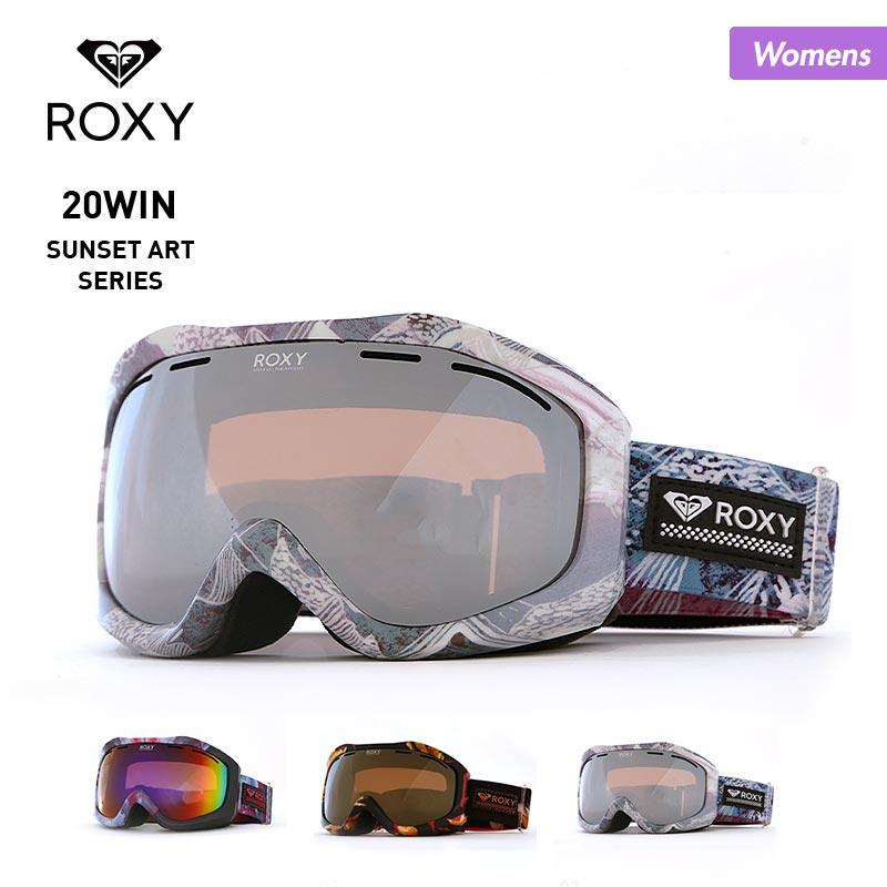 ROXY/ロキシー レディース スノーボード ゴーグル ERJTG03108 スノー用ゴーグル スキーゴーグル スノボ 紫外線カット UVカット 球面レンズ 女性用