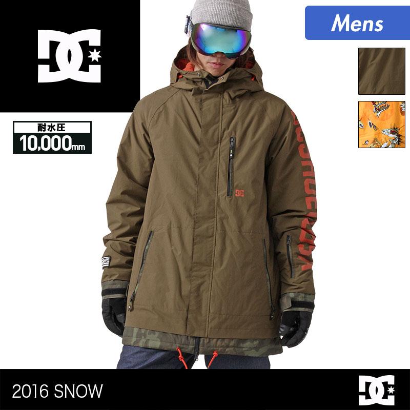 DC/ディーシー メンズ スノーボードウェア ジャケット EDYTJ03005 スノージャケット スノボウェア スノボーウェア 上 スノーウェア ウエア 男性用