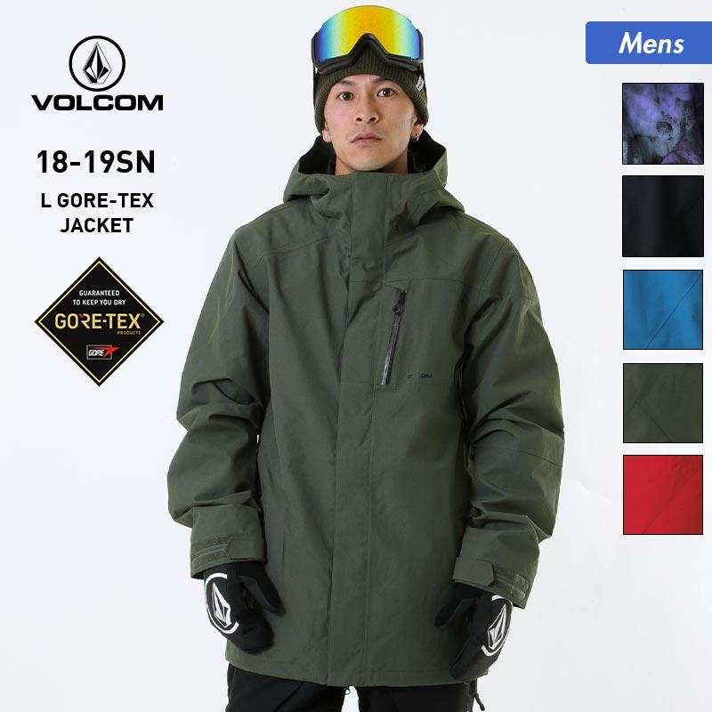 全品5%OFF券配布中 VOLCOM/ボルコム メンズ GORE-TEX スノーボードウェア ジャケット G0651904 スノーウェア スノボウェア スキーウェア 上 スノージャケット ゴアテックス 男性用