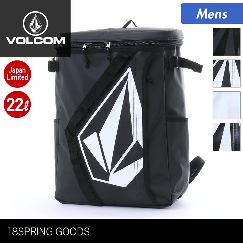 VOLCOM/ボルコム メンズ 22L 撥水 バックパック D65118JB かばん リュックサック デイパック バッグ 防水 通勤 通学 男性用