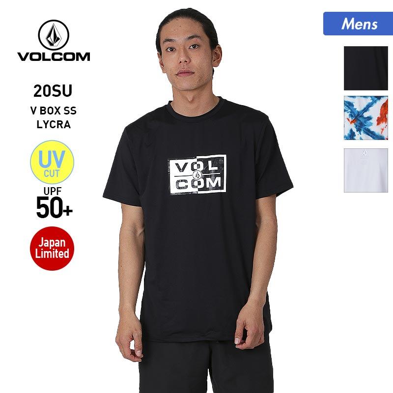 メール便対応可 売り込み 全3色 VOLCOM の半袖 ラッシュガード Tシャツ が50%OFF JP V BOX SS LYCRA 2020 全品10%OFF券配布中 UVカット ボルコム 商舗 N0102003 SUMMER アウトドア 水着 スイムウェア 紫外線カット メンズ 半袖 男性用