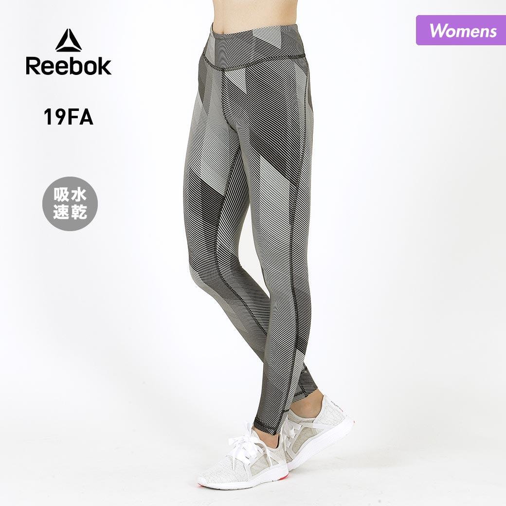 全品10%OFF券配布中 Reebok/リーボック レディース レギンス FVN88 レギンスパンツ タイツ ロングパンツ フィットネスウェア ウエア ヨガウェア 吸汗速乾 女性用