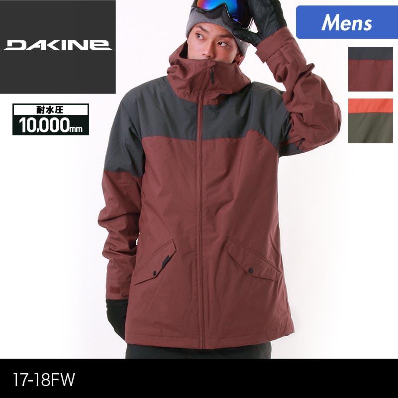 DAKINE/ダカイン メンズ スノーボードウェア ジャケット AH232-758 スノージャケット スノーウェア スノボウェア ウエア スキーウェア 男性用