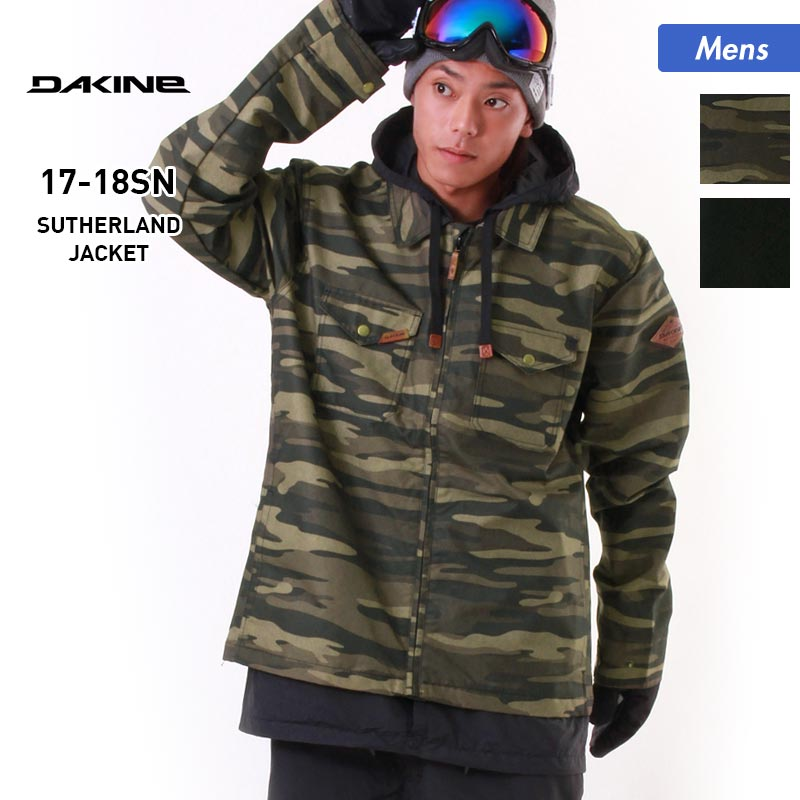 DAKINE/ダカイン メンズ スノーボードウェア ジャケット AH232-759 スノージャケット スノーウェア スノボウェア ウエア スキーウェア 男性用
