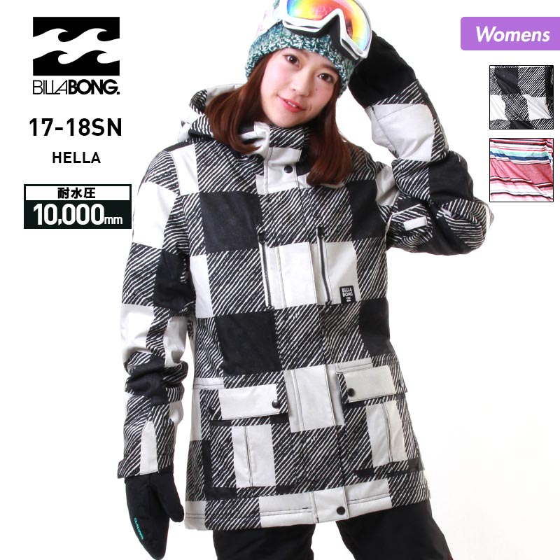 全品5%OFF券配布中 BILLABONG ビラボン レディース スノーボードウェア ジャケット AH01L-753 スノージャケット スノーウェア スノボウェア ウエア スキーウェア 上 女性用