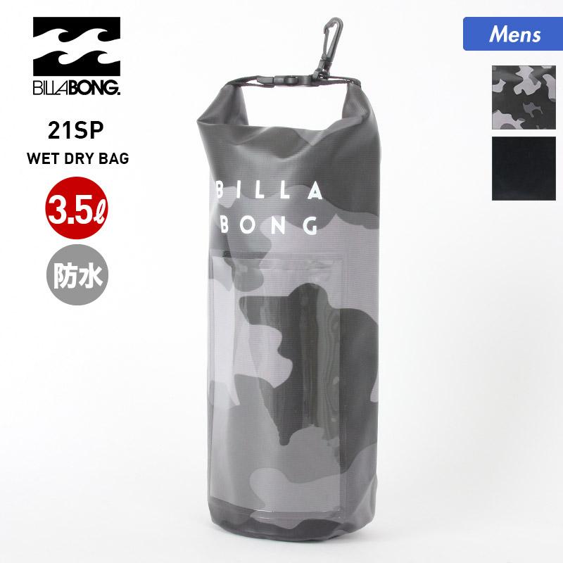 全2色 BILLABONG の防水 バッグ WET DRY BAG いよいよ人気ブランド 2021 SPRING ビラボン メンズ 防水 BB011-923 かばん ビーチ 海水浴 ドライバッグ 正規逆輸入品 男性用 鞄 アウトドア 撥水 ウェットバッグ プール