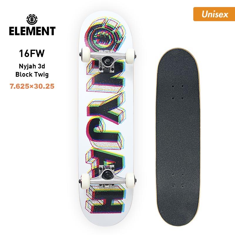 ELEMENT/エレメント メンズ&レディース スケートボード コンプリートデッキ AH027-405 スケボー セット 男性用 女性用