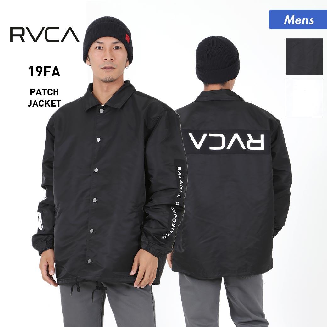 RVCA/ルーカ メンズ コーチジャケット AJ042-757 ナイロンジャケット 防寒 スポーツ アウトドア 長袖 男性用