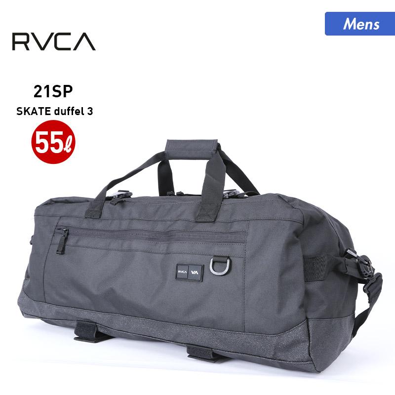 RVCA のスケートボード用 バッグ が20%OFF RVCA SKATE duffel 2021 SPRING RVCA/ルーカ メンズ スケートボード用 バッグ BB041-952 ダッフルバッグ 55L 大容量 スケボー ケース 男性用