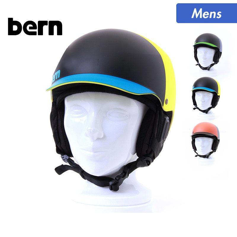 全品5%OFF券配布中 bern/バーン メンズ アクションスポーツ用 ヘルメット BAKER スノーボード用 スキー用 つば付き プロテクター 男性用