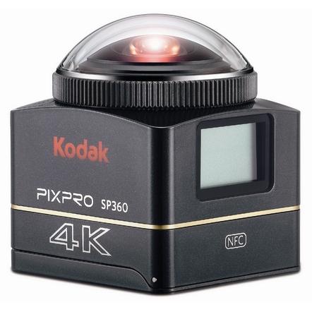 新着!!【メーカー取寄品】【送料無料】デイトナ DAYTONA コダック Kodak PIXPRO SP360 4K アクションカメラ 93436 360°×4K対応アクションカメラ