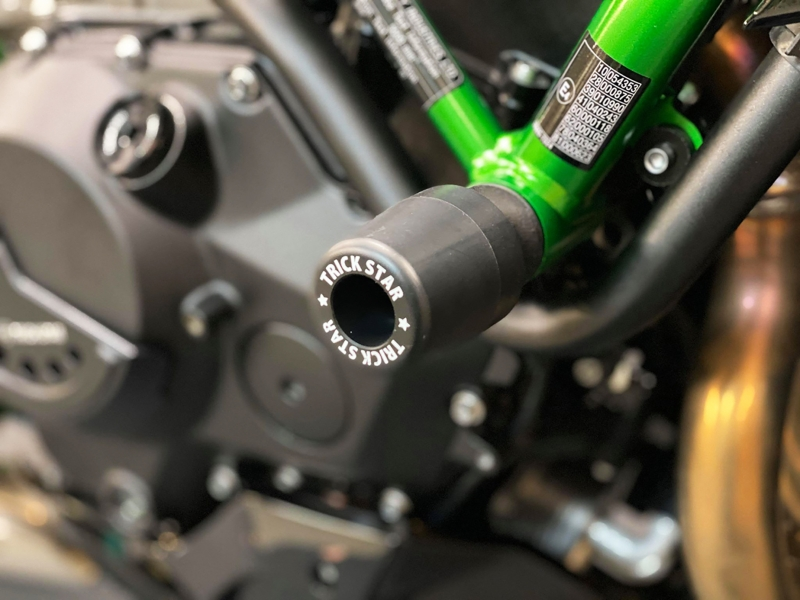 【送料無料】【受注生産品】【Kawasaki Z H2】TRICK STAR トリックスター フレームスライダー STD