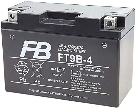メーカー取寄せ FURUKAWA 古河電池 新作送料無料 FT9B-4 GT9B-4 古河バッテリー メンテナンスフリー バッテリー 安心の正規品 互換 即納