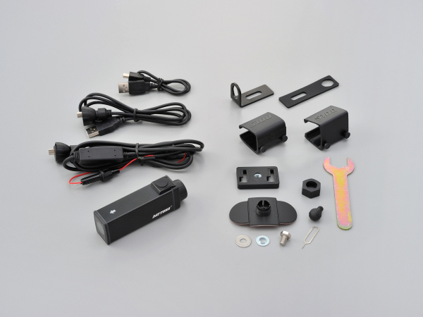新着!!【メーカー取寄品】【送料無料】デイトナ DAYTONA バイク専用ドライブレコーダー DDR-S100 96864 アクションカメラとしても利用可能 最大14時間記録可能