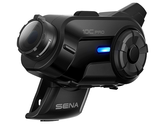 【国内正規品】【送料無料】【メーカー取寄品】SENA 2Kカメラ内蔵バイク用多機能Bluetoothインカム SENA 10C PRO