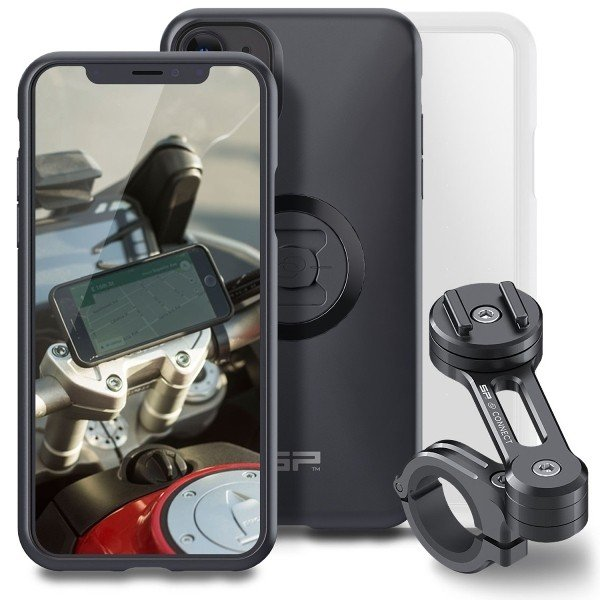 新着!!【メーカー取り寄せ】【送料無料】DAYTONA デイトナ SP MOTO BUNDLE モトバンドル iPhone11/iPhone11 Pro Max/11 Pro スマホ 携帯