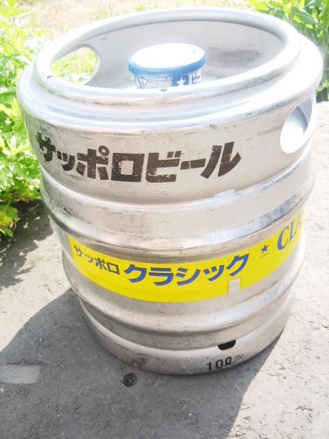サッポロ クラシック 樽生20L/サッポロ生・ビール[20L樽]【業務用】【北海道限定】【西濃運輸、受付中止、重量ゆうパックだけ、受付中。】