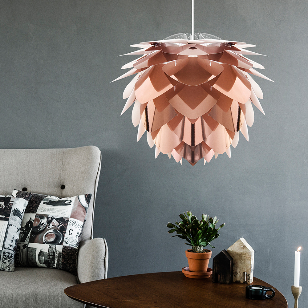 天井照明 ペンダントライト1灯 SILVIA Copper シルヴィアコパー UMAGE ウメイ VITA ヴィータ 北欧 LED電球 使用可