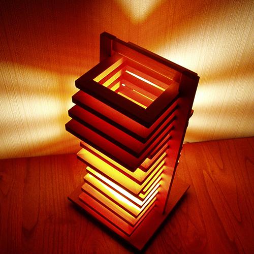 送料無料 LED電球 使用可 テーブル スタンド ライト 北欧 フレイムスヒキダシテーブルスタンド HD-101 日本製 【Flames】フレイムス おしゃれ レトロ