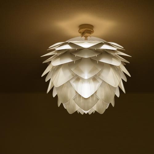 天井照明 シーリングライト1灯 SILVIA mini Steel シルヴィアミニスチール UMAGE ウメイ VITA ヴィータ 北欧 LED電球 使用可