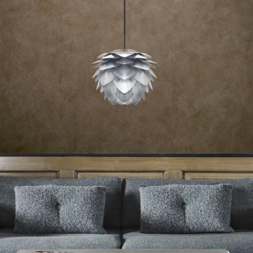 天井照明 ペンダントライト1灯 SILVIA mini Steel シルヴィアミニスチール UMAGE ウメイ VITA ヴィータ 北欧 LED電球 使用可