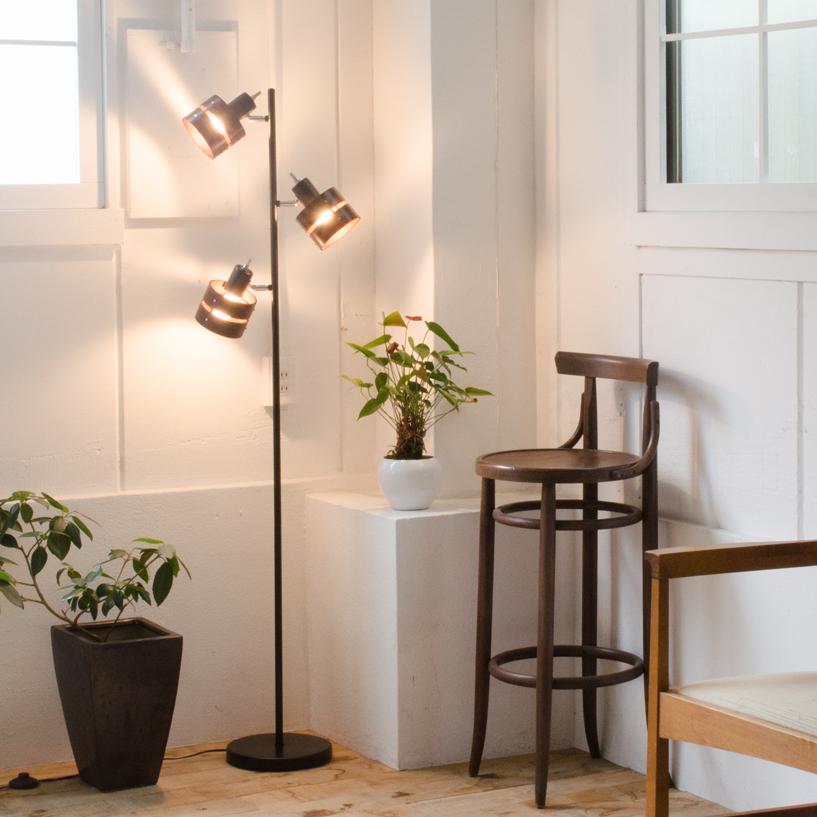 送料無料 LED電球 使用可 フロア スタンド ライト TROY Floor トロイフロア CC-FL3 ブルックリンスタイル おしゃれ レトロ モダン