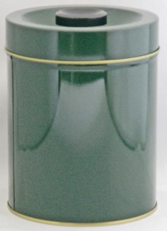 お茶缶です 印刷緑色 値下げ 茶缶 500g 春の新作シューズ満載