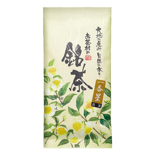 さっぱり甘めのお茶 煎茶 春の新作シューズ満載 緑茶 九州産茶葉使用 正規認証品!新規格 一番星 茶葉 100g 九州産 日本茶 お茶