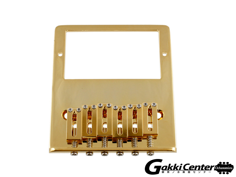 Allparts Gold Gotoh Humbucking Bridge for Telecaster/6020