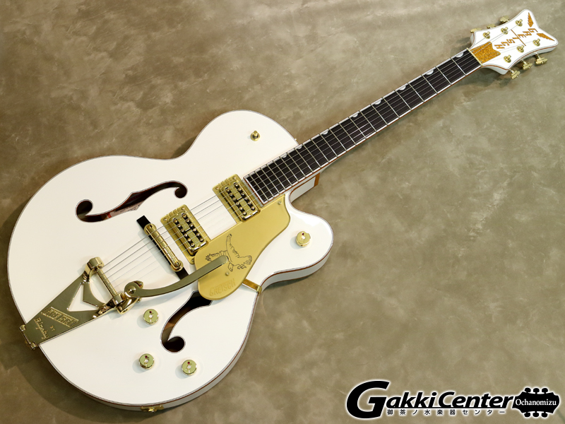 Gretsch G6136T-WHT Players Edition Falcon【シリアルNo:JT19104223/3.8kg】【店頭在庫品】