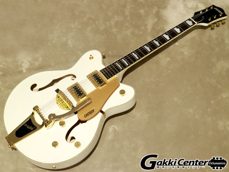 Gretsch G5422TG Electromatic Hollow Body Double-Cut with Bigsby Snow Crest White【シリアルNo:KS18033728/3.1kg】
