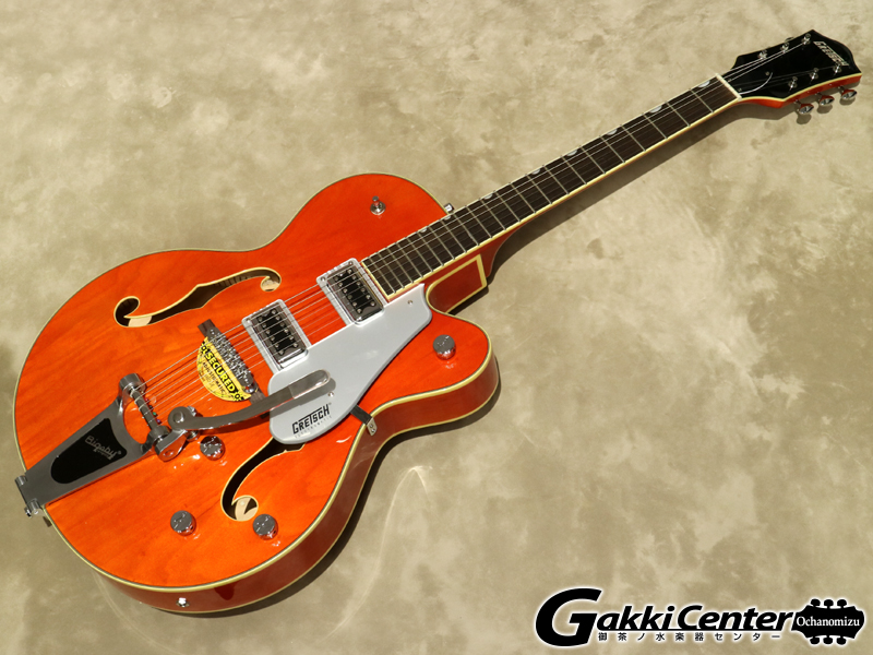 Gretsch G5420T Electromatic Hollow Body Single-Cut with Bigsby Orange Stain【シリアルNo:KS19083541/3.4kg】