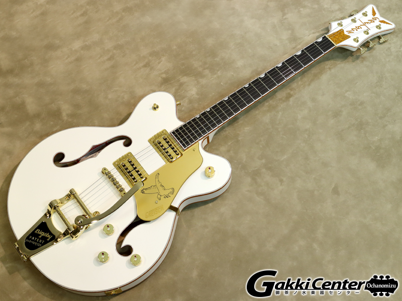 Gretsch G6636T Players Edition Falcon Center Block Double-Cut White【シリアルNo:JT19062614/3.8kg】【店頭在庫品】