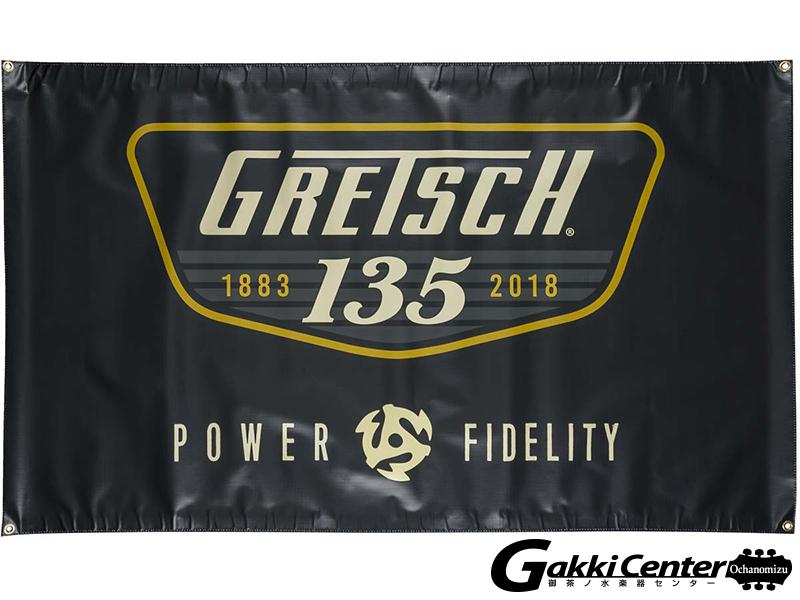 GRETSCH 135th Anniversary Banner
