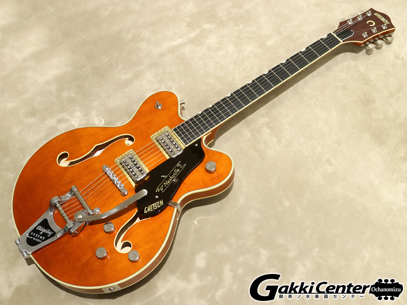 Gretsch G6620T Players Edition Nashville Center Block Double-Cut, Round-Up Orange【シリアルNo:JT19020916/3.7kg】【店頭在庫品】