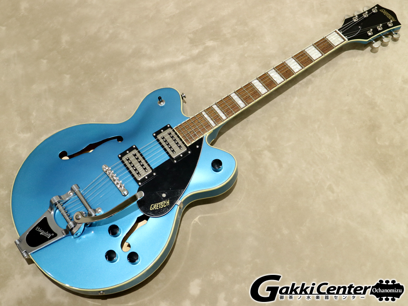 Gretsch G2622T Streamliner Center Block with Bigsby, Riviera Blue 【シリアルNo:IS190200118/3.4kg】【店頭在庫品】