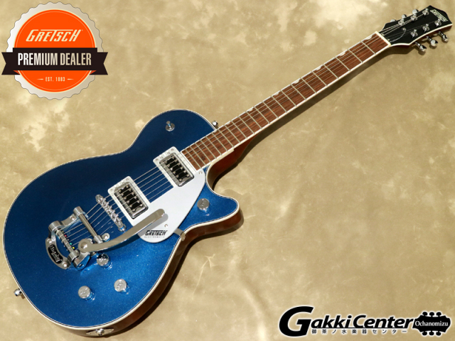 Gretsch Electromatic G5230T Electromatic Jet FT Single-Cut with Bigsby Aleutian Blue【シリアルNo:CYG19090840/3.7kg】【店頭在庫品】