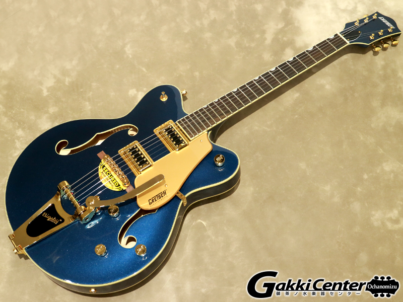【限定仕様】Gretsch G5422TG Limited Edition Electromatic® Hollow Body Double-Cut with Bigsby® Midnight Sapphire 【シリアルNo:KS19073822/3.3kg】【店頭在庫品】