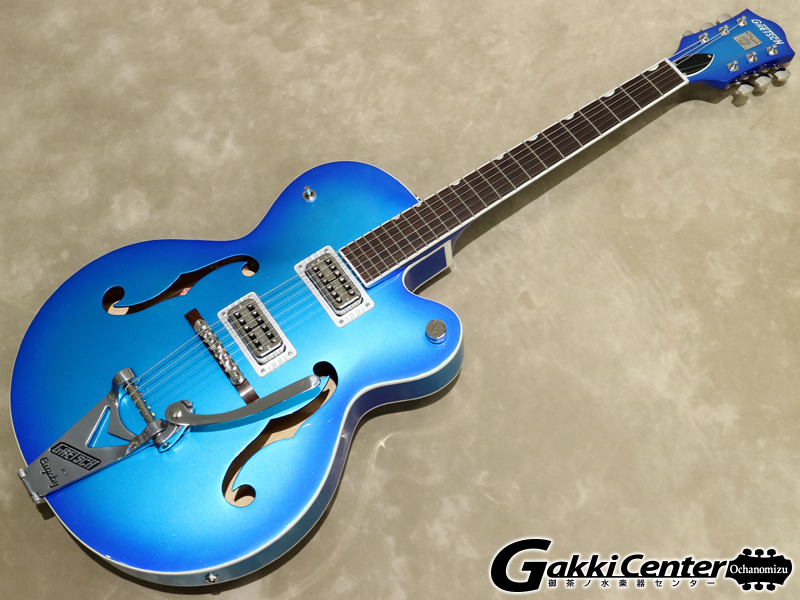 Gretsch G6120T-HR Brian Setzer Signature Hot Rod Hollow Body with Bigsby / Candy Blue Burst【シリアルNo:JT19104197/3.2kg】