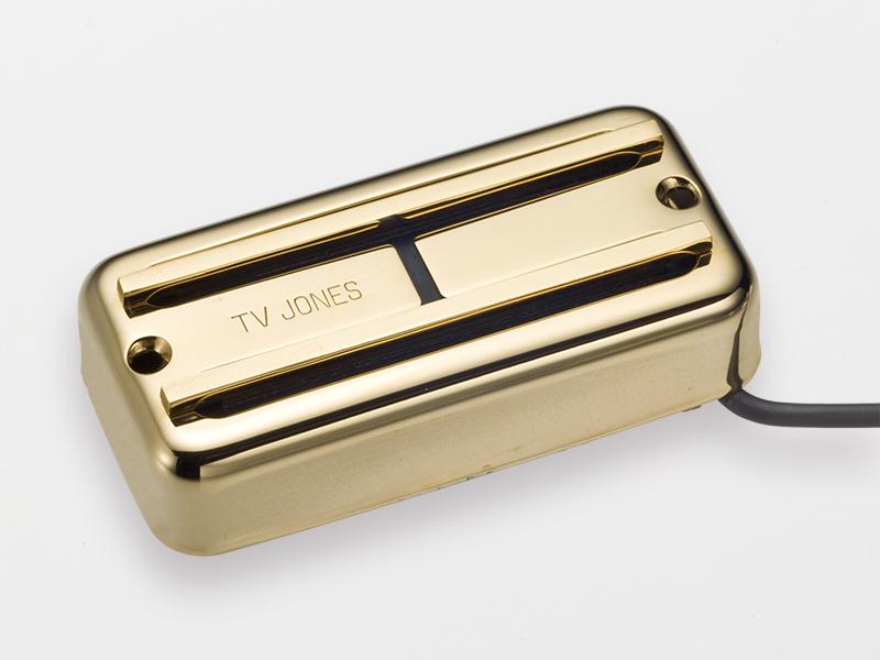 TV Jones Super'Tron Neck/Gold【店頭在庫品】