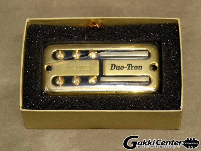 TV Jones Paul Yandell Duo-Tron Neck/Gold UV【店頭在庫品】
