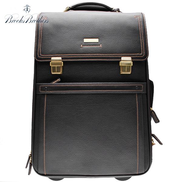 ブルックスブラザーズ 総革 レザー スーツケース BROOKS BROTHERS キャリーバッグ ラゲージ 旅行鞄 ブラウン 茶【アメトラ】【送料無料】