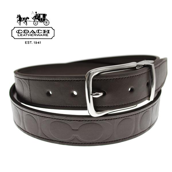 a88bcd03b31c0 ocinc  Coach mens belts MENS COACH signature embossed leather belt ...