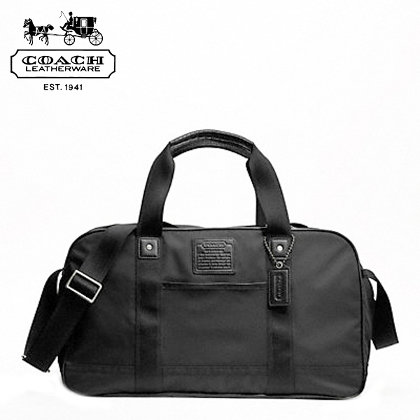 Coach Men Bags Mens Boston Bag Gym Black