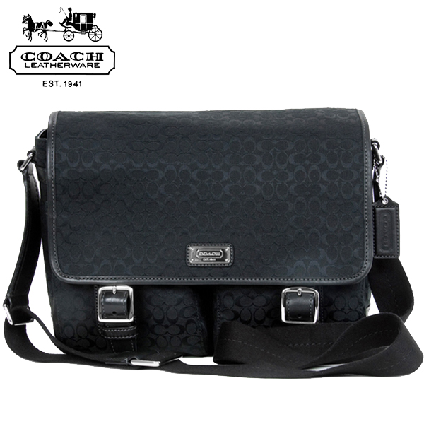 From the topics COACH men Messenger bag is in stock now! Magnetic flap open  so easy load and unload your luggage. Compact pocket and storage was  excellent f8219d3aa3a1e